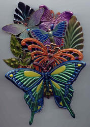 BUTTERFLIES ARE FREE WREATH
