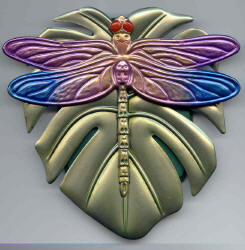 DRAGONFLY ON WREATH